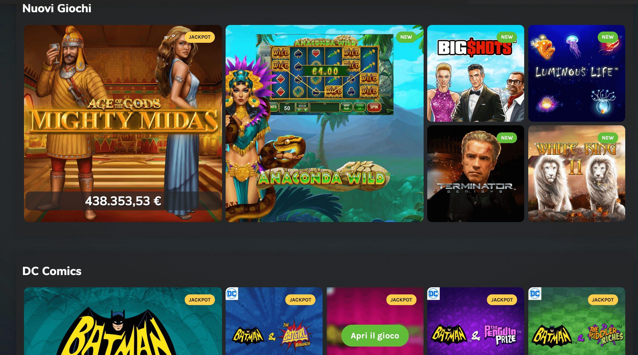 betwin360 bw360 giochi slot