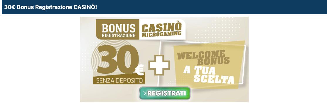 Betflag Casino welcome bonus