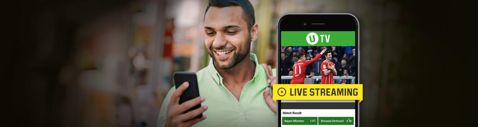 bundesliga live streaming unibet