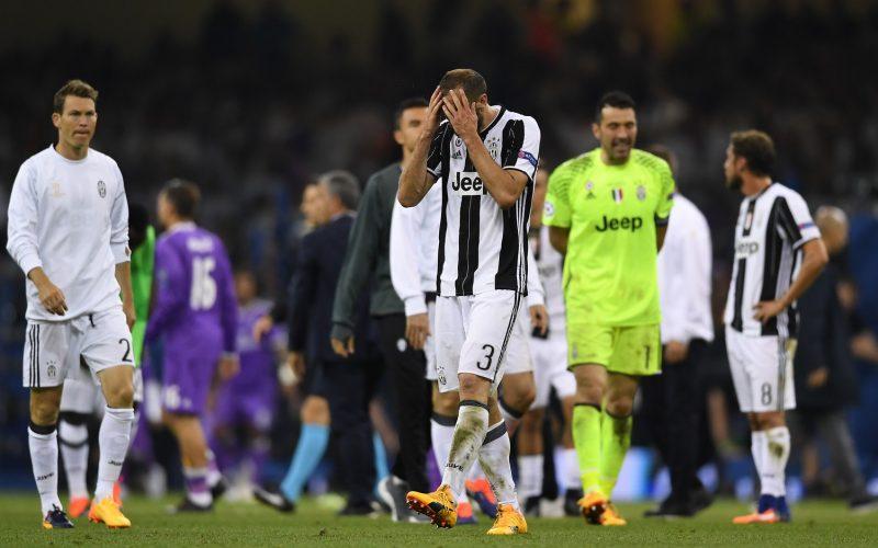 """Chiellini ammette: """"A Cardiff ero sicuro di vincere la Champions"""""""