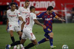 Liga, il Barcellona impatta a Siviglia: ora il Real Madrid può agganciarlo