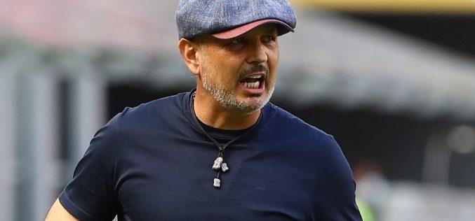 """Bologna, Mihajlovic sbotta: """"Troppe ammonizioni e in tv non si parla di noi"""""""