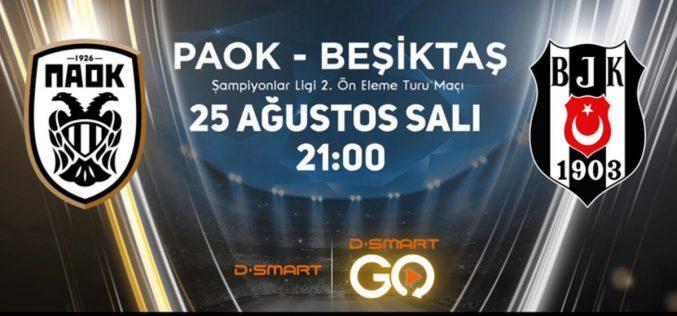 Champions League, Paok-Besiktas: quote, probabili formazioni e pronostico (25/08/2020)