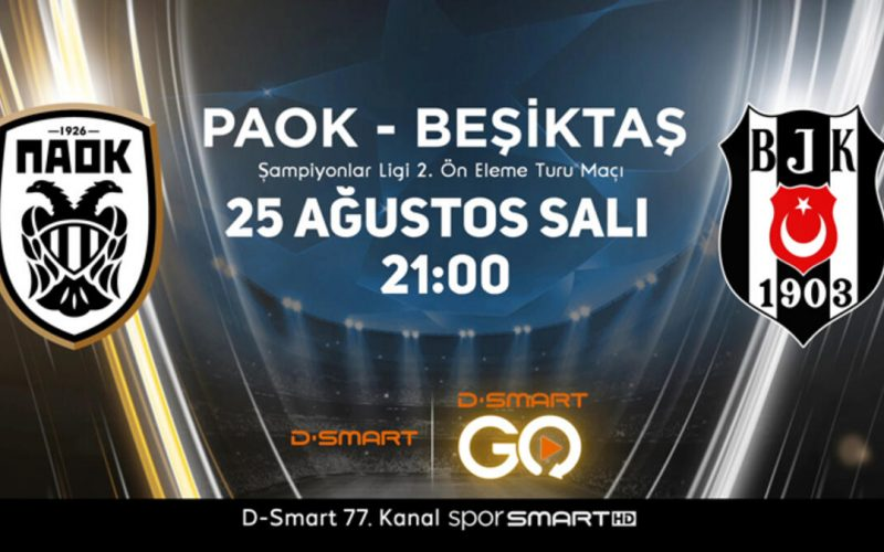 Champions League, Paok-Besiktas: quote, probabili formazioni e pronostico (25/08/2020)