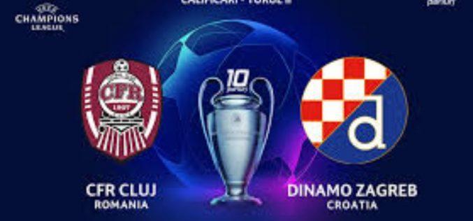 Champions League, Cluj-Dinamo Zagabria: quote, probabili formazioni e pronostico (26/08/2020)