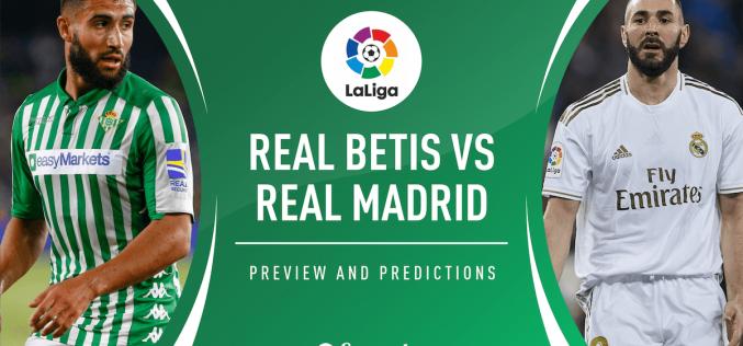 Liga, Betis-Real Madrid: quote, pronostico e probabili formazioni (26/09/2020)