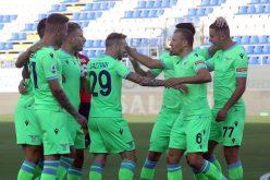 Cagliari-Lazio 0-2, i biancocelesti partono col piede giusto