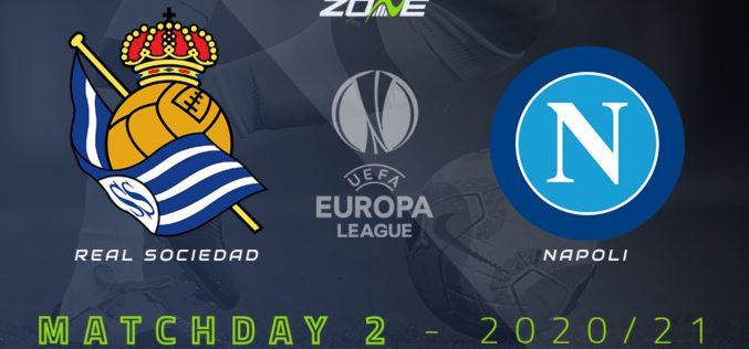 Europa League, Real Sociedad-Napoli: quote, pronostico e probabili formazioni (29/10/2020)