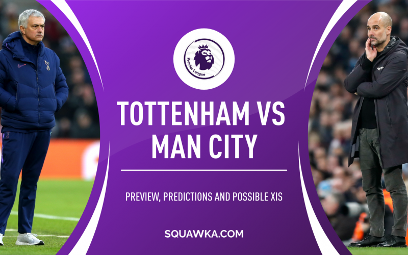 Premier League, Tottenham-Manchester City: quote, pronostico e probabili formazioni (21/11/2020)