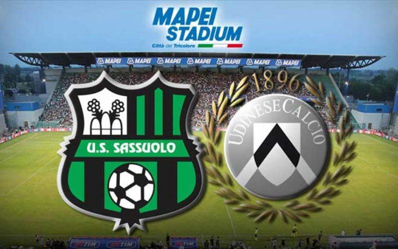 Serie A, Sassuolo-Udinese: quote, pronostico e probabili formazioni (06/11/2020)