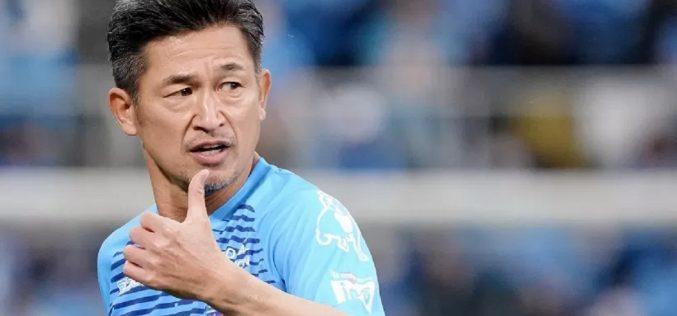 Eterno Miura, altro rinnovo di contratto: giocherà a 54 anni!