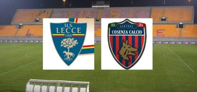 Lecce-Cosenza, Serie B: quote, pronostico e probabili formazioni (21/02/2021)