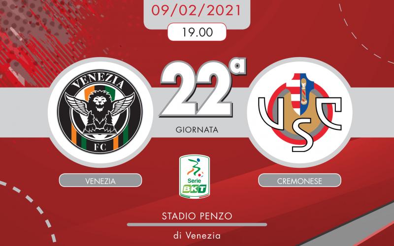 Serie B, Venezia-Cremonese: quote, pronostico e probabili formazioni (09/02/2021)