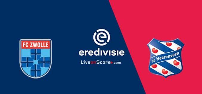 Zwolle-Heerenveen, Eredivisie: pronostico, probabili formazioni e quote (26/02/2021)