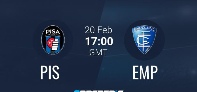 Pisa-Empoli, Serie B: quote, pronostico e probabili formazioni (20/02/2021)