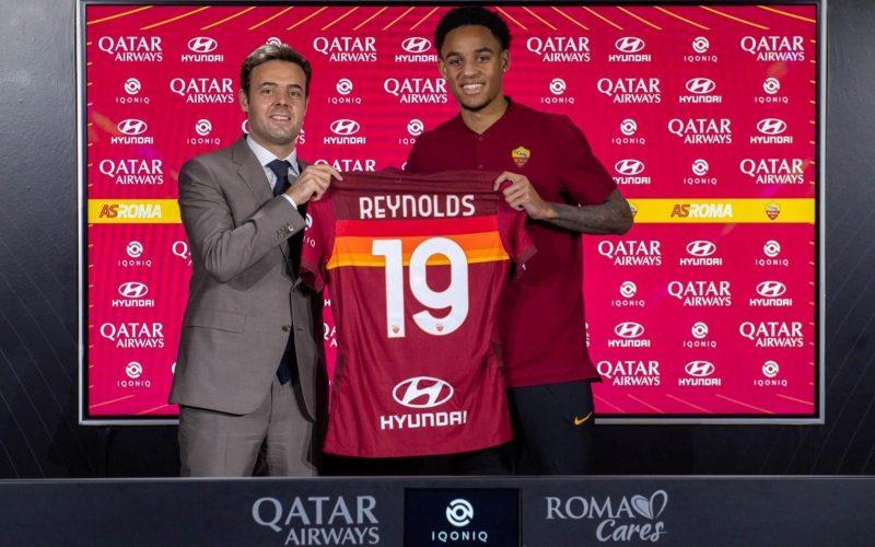 Calciomercato Roma, ufficiale lo statunitense Reynolds
