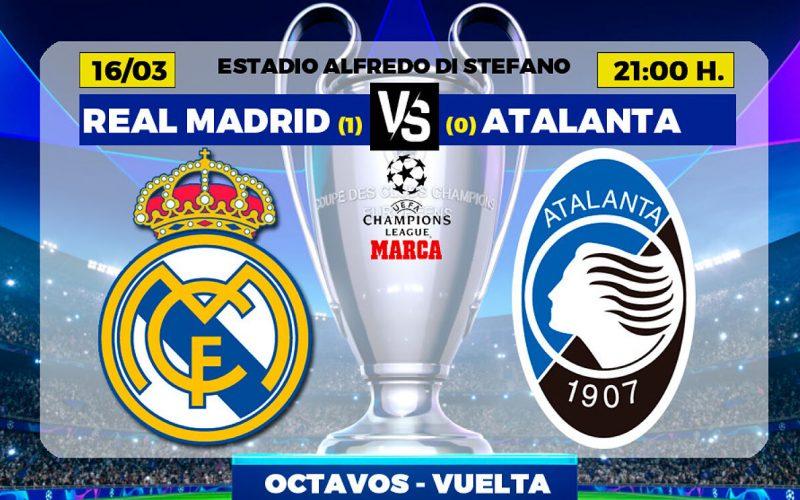Champions League, Real Madrid-Atalanta: pronostico, probabili formazioni e quote (16/03/2021)