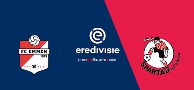 Emmen-Sparta Rotterdam, Eredivisie: pronostico, probabili formazioni e quote (05/03/2021)