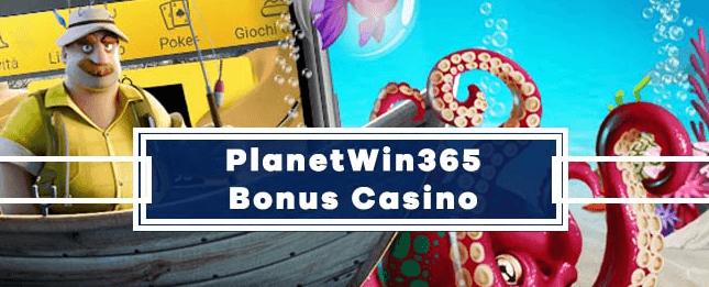I bonus slot di Planetwin365 Casino