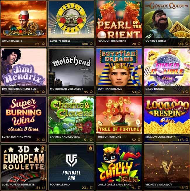 Le migliori slot machine di Planetwin365 Casino