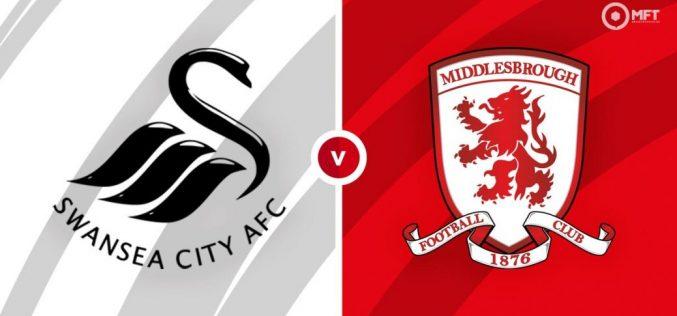 Swansea-Middlesbrough, Championship: pronostico, probabili formazioni e quote (06/03/2021)