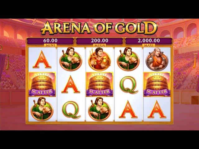Slot machine Arena of Gold