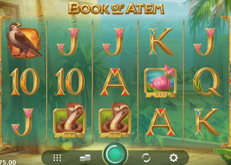 Slot machine Book of Atem