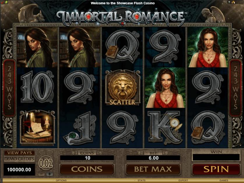 Slot machine Immortal Romance