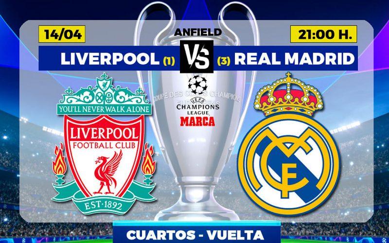 Champions League, Liverpool-Real Madrid: pronostico, probabili formazioni e quote (14/04/2021)