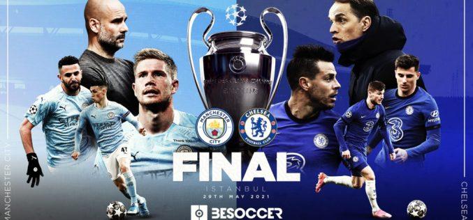 Champions League, Manchester City-Chelsea: pronostico, probabili formazioni e quote (29/05/2021)