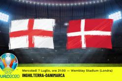Europei 2020, Inghilterra-Danimarca: pronostico, probabili formazioni e quote (07/07/2021)