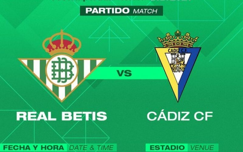 Liga, Betis-Cadice: pronostico, probabili formazioni e quote (20/08/2021)