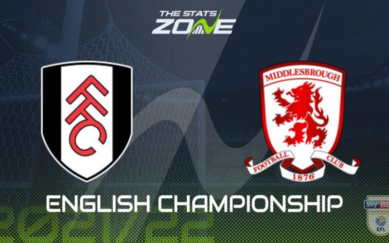 Championship, Fulham-Middlesbrough: pronostico, probabili formazioni e quote (08/08/2021)