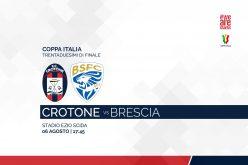 Coppa Italia, Crotone-Brescia: pronostico, probabili formazioni e quote (16/08/2021)