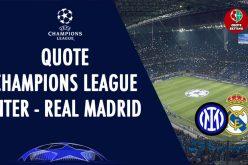 Champions League, Inter-Real Madrid: pronostico, probabili formazioni e quote (15/09/2021)