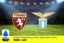 Serie A, Torino-Lazio: pronostico, probabili formazioni e quote (23/09/2021)